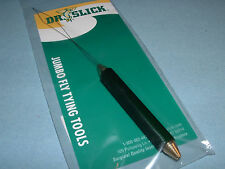 Dr. Slick Jumbo Bobbin Threader w/ Half Hitch Tool Handle Fly Tying BT-J
