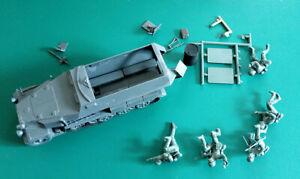 Assembled plastic model Tamiya 35020 German Hanomag Sdkfz 251/1 in 1/35 scale