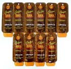 """CALIFORNIA TAN """"GINGER SPICE"""" LOTION, HOT ACTION - LOT OF 10-.5Z PKTS - STEP 1"""