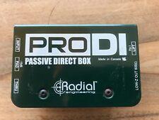 DI BOX / PRO DI Passive Direct Box