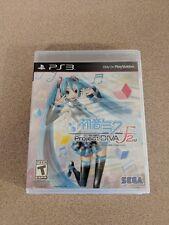HATSUNE MIKU PROJECT DIVA F 2ND PLAYSTATION 3 PS3 BRAND NEW SEALED!