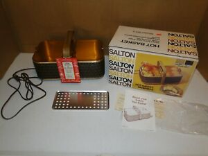 Salton Hot Basket and Roll Refresher BH-5