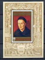 32483) HUNGARY 1971 MNH** Durer S/S Scott# 2074
