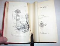"""Antique 1884 """"Cecil's Summer"""" by E.B. Hollis ILLUSTRATED"""