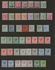 GIBRALTAR MINT Collection of 45 x QV to KGV Stamps