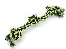 XXL 85cm (950g) Zahnknoten BAUMWOLLE Hundespielzeug Spieltau Baumwollknoten