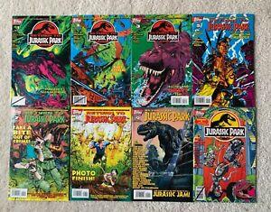 Topps Comics Return to Jurassic Park #1-3, #5, #7-9, + Jurassic Park Annual #1