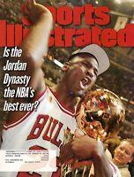 1997 Sports Illustrated, Basketball magazine, Michael Jordan, Chicago Bulls~ VG
