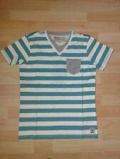 TAN 15 - Camiseta, Still Agua, Blanco Verde de rayas V. García T. gr.140-164