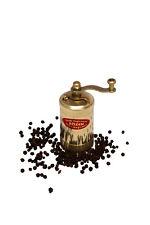 Traditional SOZEN Turkish Handmade Pepper Grinder Mill Brass 8.50 cm 3.4