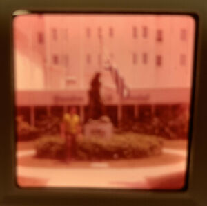 1969 Kodacolor Photo Slide Sheraton British Colonial Nassau Bahamas