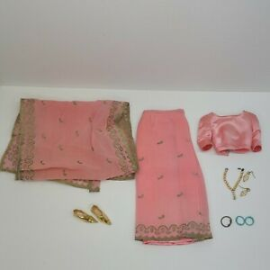 Vintage Barbie Little Theater Costume Arabian Nights #874 Incomplete