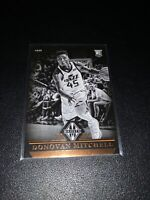 Donovan Mitchell ROOKIE Utah Jazz 2017-18 Panini Chronicles Majestic card RC