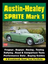 AUSTIN-HEALEY SPRITE Mark I test su strada Portafoglio Book Libro