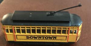 N Scale Downtown Trolley