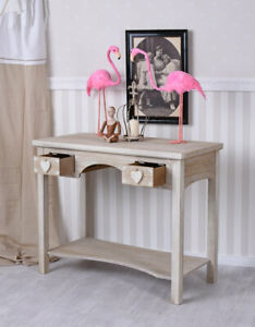Wall Side Table Cabin Fever Console Table Wood Console Vintage Table Console
