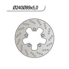 DISCO FRENO POST. NG 240 99/07 SUZUKI GSX R HAYABUSA 1300 65.9240