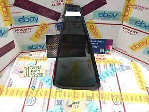 01-05 TOYOTA RAV4 REAR LEFT DOOR CORNER WINDOW GLASS SIDE VENT WINDOW + SEAL!