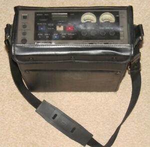 Panasonic VHS Portable Video Recorder AG-6400-B Untested C/W Case Film Prop ?