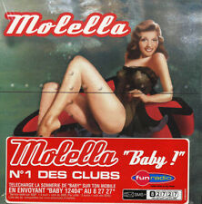 CD NEUF SCELLE - MOLELLA - BABY / Edition Cardsleeve - C5