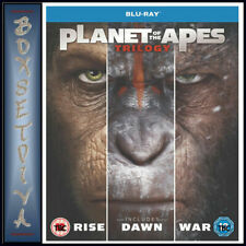PLANET OF THE APES - TRILOGY (3 FILMS) BLU-RAY UK BLURAY