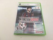 Pro Evolution Soccer 2010 (Microsoft Xbox 360, 2009) XBOX 360 NEW!