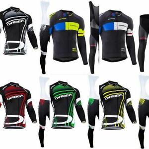 ORBEA TEAM LONG Cycling Jersey Bib Set Kit Shorts Shirt Ropa Ciclismo MTB Maillo