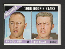 1966 Topps #84 Beauchamp/Kelley Atlanta Braves ex-mt