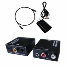 Easyday Digital to Analog Audio Converter With Optical Toslink and
