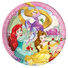 Disney 46880 Princess Party Decoration Plates Paper 23 cmLarge