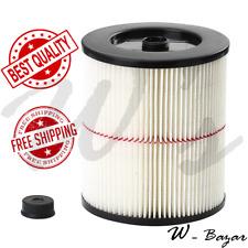 Craftsman (917816) General Purpose Red Stripe Vaccum Cartridge Filter 8.5