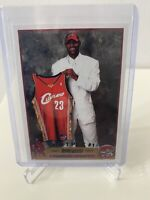 LeBron James Topps Rookie Card 2003-04 RC Draft Pick #1 RP