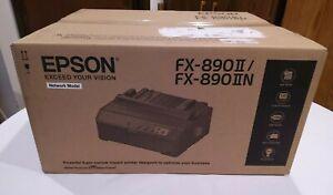 EPSON FX-890IIN Dot Matrix Network Impact PRINTER Model C11CF37202