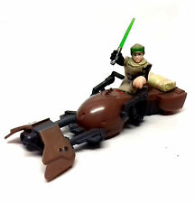 Star Wars Galactic Heroes Endor Luke Skywalker & Speeder Bike Figura Rara
