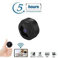 Anlork Mini Spy Hidden Camera WiFi 2020 1080p HD Home Security Nanny Cam