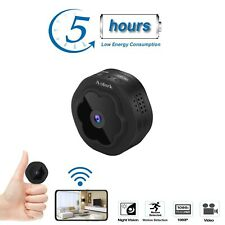 Anlork Mini Spy Hidden Camera WiFi 2020 1080p HD  Home Security Nanny Cam