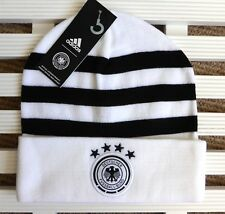 GERMANY Adidas 3S Official Football BEANIE Toque Hat OSFM Adult Soccer Tag