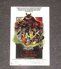 LE Disney PIN✿Original Movie Poster Black Cauldron Horned King Taran Eilonwy LE