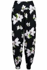 Unbranded Flower Plus Size Trousers for Women