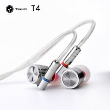 TINHIFI T4 Earphone MMCX With Detachable Cable HIFI In-Ear Earphone