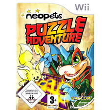 Nintendo Wii PAL version Neopets puzzle Adventure