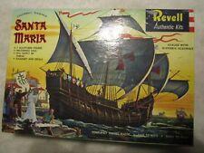 1960 Revell Santa Maria Columbus Flagship Authentic Model Kit # H-336-298