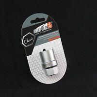 Silver SpeedPark Alloy 6061 Handlebar 25.4mm x 500mm For Fixed Gear Bike