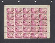 FIJI 1949 U.P.U. 3 VALUES IN PART SHEETS OF 25 S.G.272/4 UNMOUNTED MINT CAT.£65+