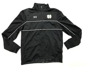 Under Armour Notre Dame Fighting Irish Rival Knit Black Women's S Jacket 1277159