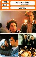 FICHE CINEMA : RED ROCK WEST - Cage,Hopper,Flynn Boyle,Dahl 1992