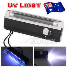 Handheld UV Black Light Blacklight Party Stage Dj Pet Money Verify Lamp Torch