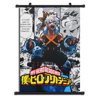 Boku no Hero Academia bakugo Anime Wall Art Home Decoration Scroll Poster