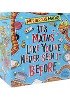 Murderous Maths 4 Book Set Collection By Kjartan Poskitt Maths Like You've never