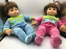 American Girl Bitty baby Twins Top ponytail girl Brunette